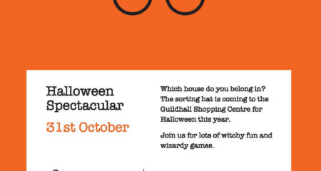 The Sorting Hat and a Magic Show is coming to the Guildhall for Halloween!