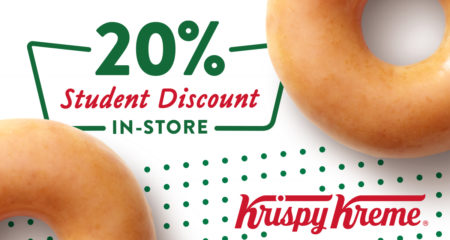 Krispy Kreme Welcomes University of Exeter Students with a great deal!
